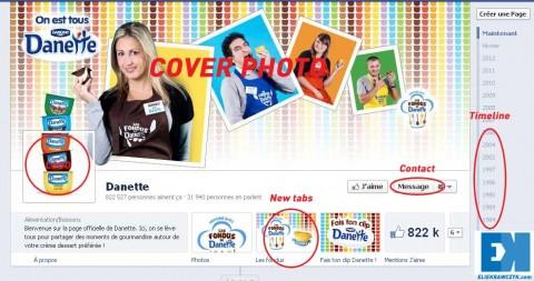 Facebook new timeline image